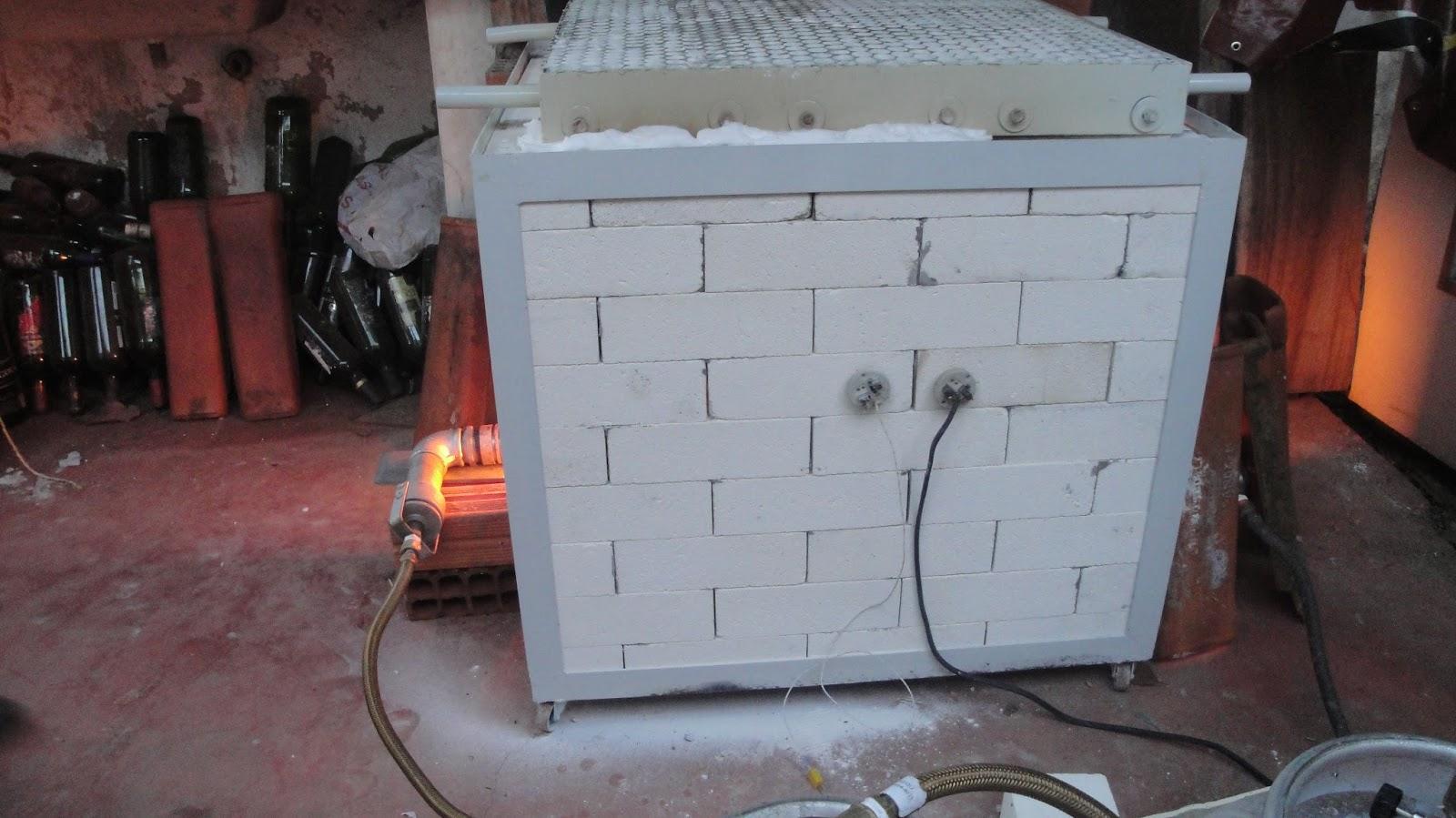 Appa – Construção de Forno a Gás para queima de Cerâmica